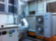 Instalação VRV e Recuperador de calor - Centro de Saúde