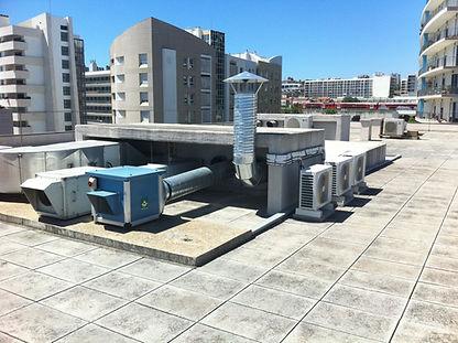 Ventilação Prédio Lisboa