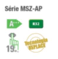MSZ-AP A++ - Odiclima