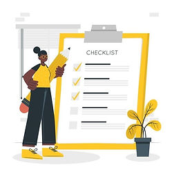 Download Checklist Concept Illustration