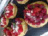 Tarte aux fruits rouges et crème douglas