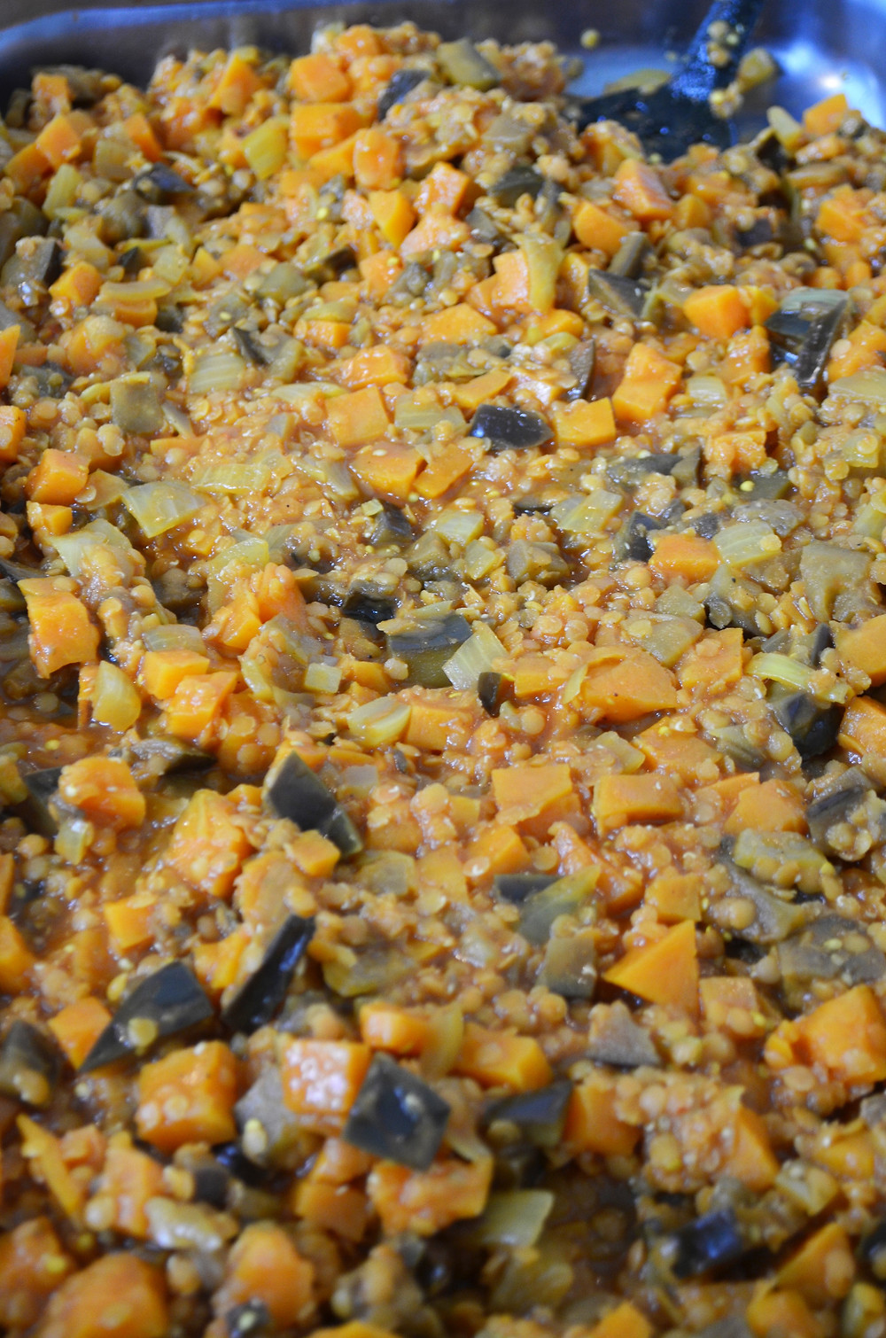 Dhal de lentille à la patate douce