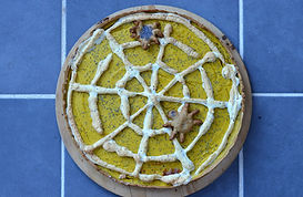 Tarte Halloween à la courge butternut