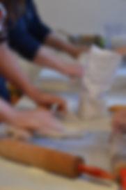 Réalisation de pâte feuiletée