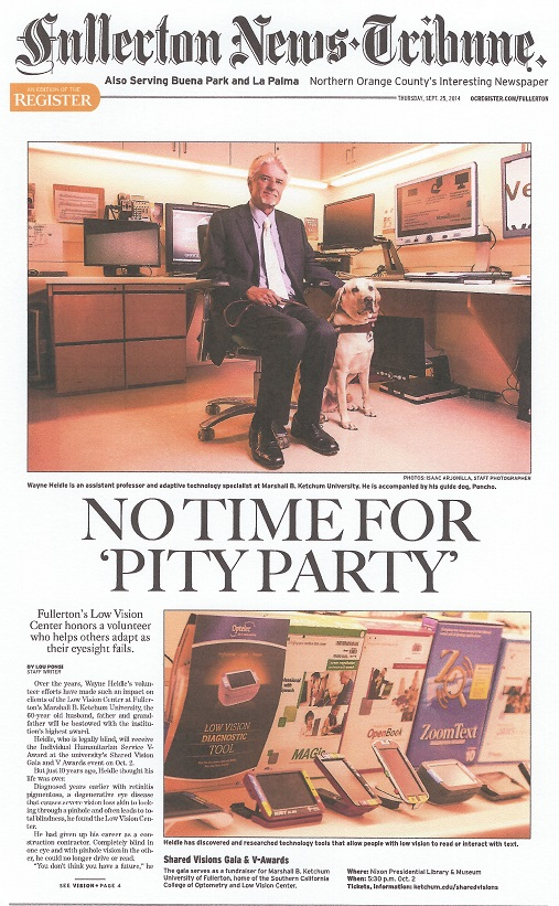 Orange County Register News Article