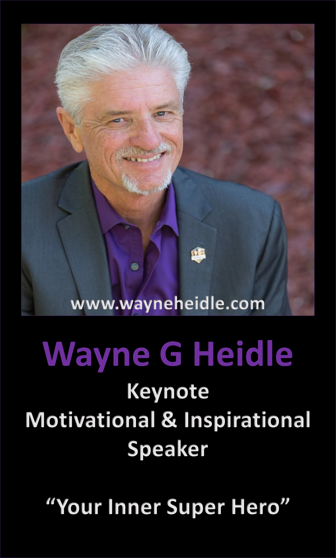 Wayne Heidle Empowering Poster2