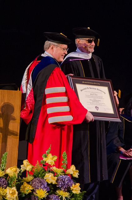 Doctorate Award and Commencement Spe