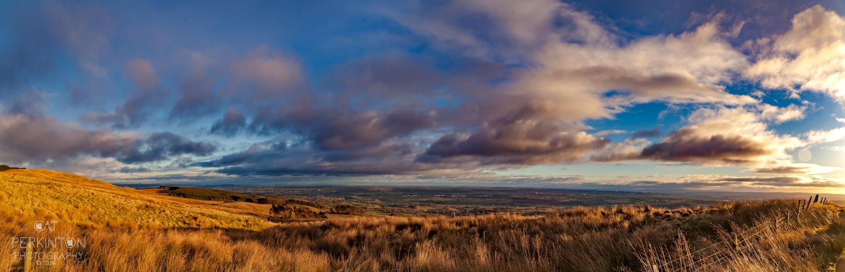 Kelvin Valley Panorama 01/01/17