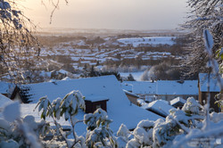 Rooftops Snow
