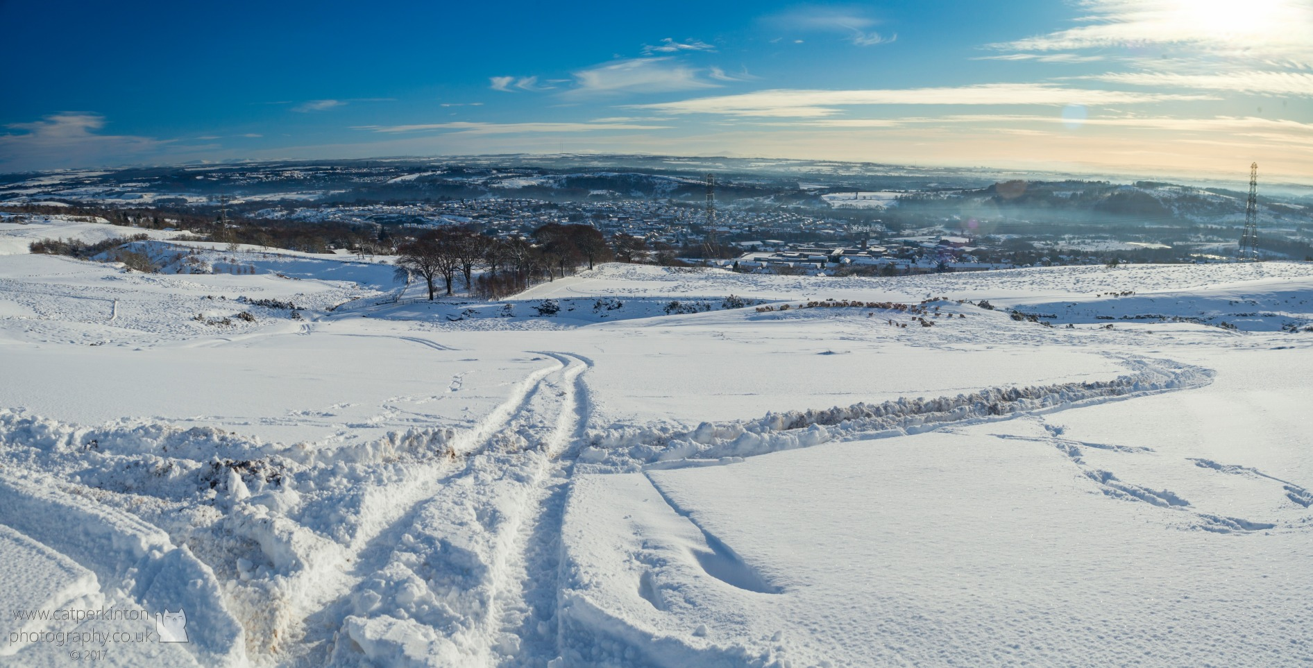 Kilsyth Snow Panorama
