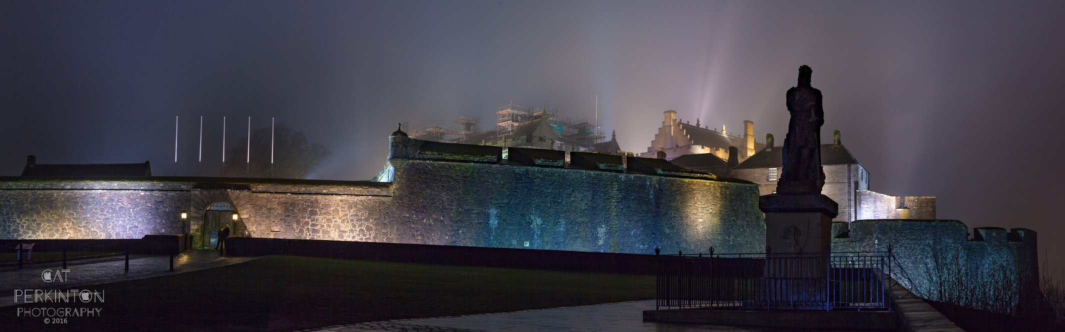 Stirling Castle Night Panormama 2