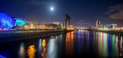 Glasgow Night Panorama2