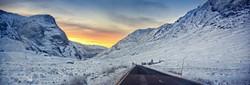 Glencoe Snow Panorama
