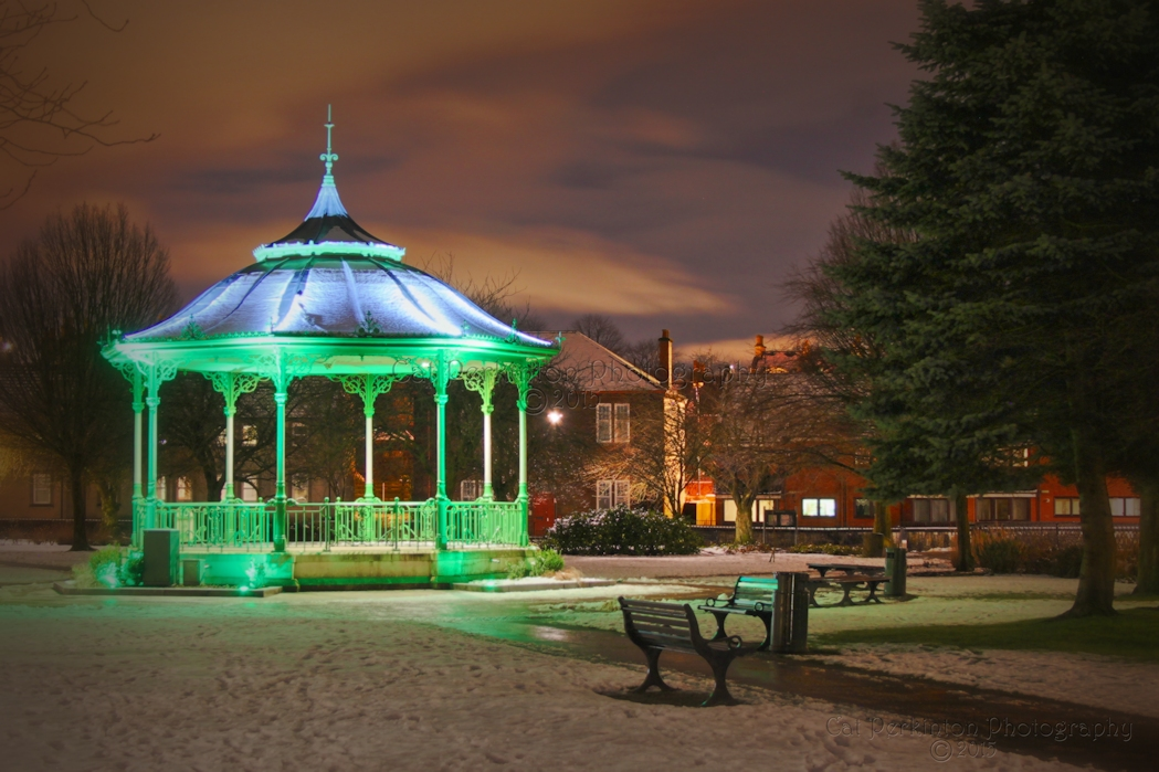 Winter at the Bandstand