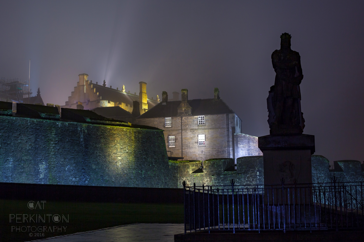 Stirling Castle Shadows