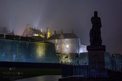 Stirling Castle Shadows