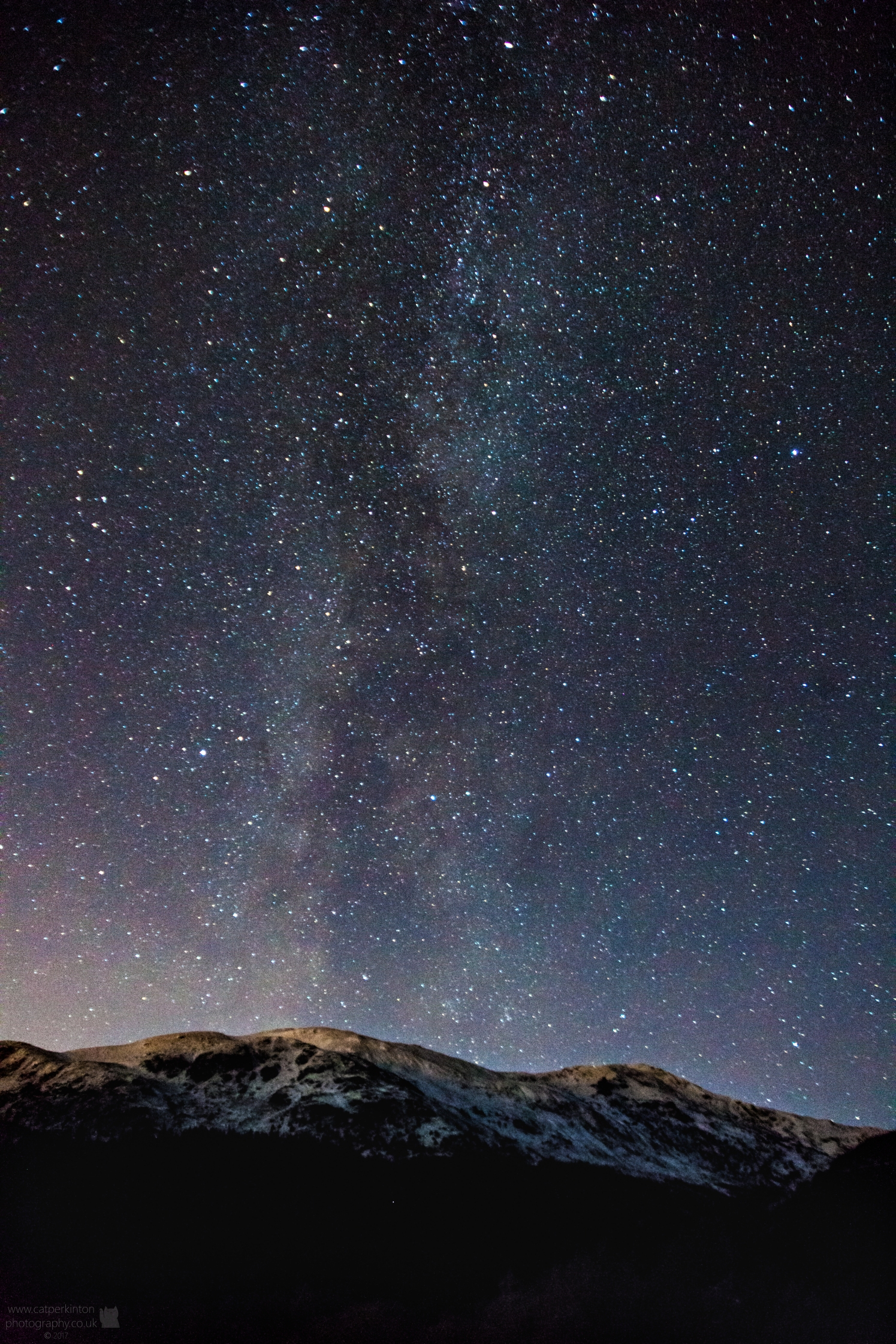 Milky Way & Mountains