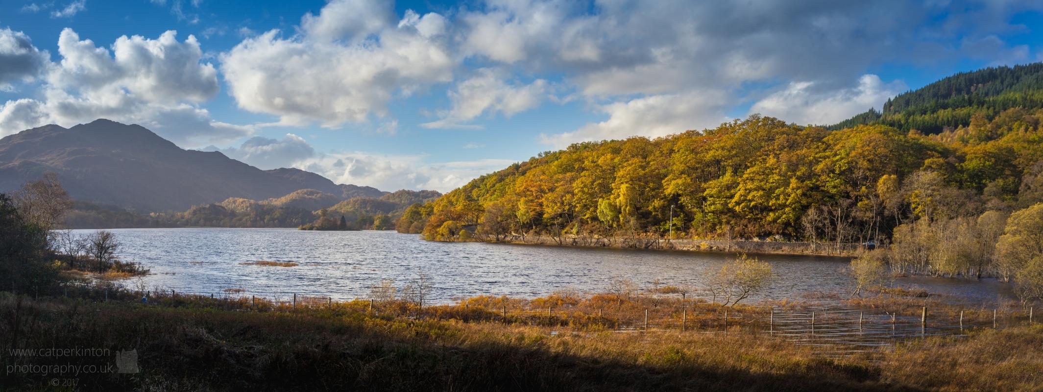 Loch Achray Panorama