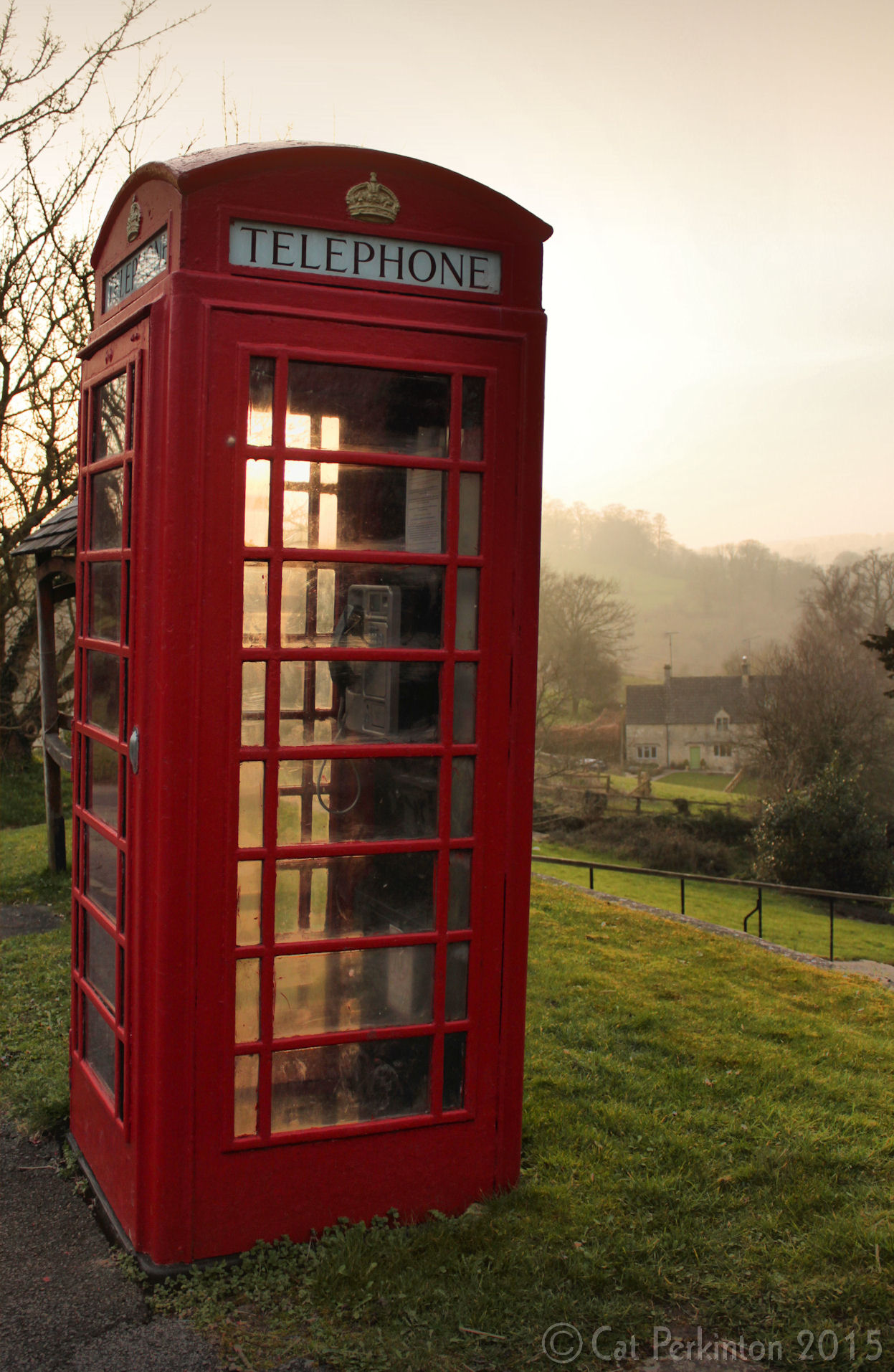 Country Phone Box