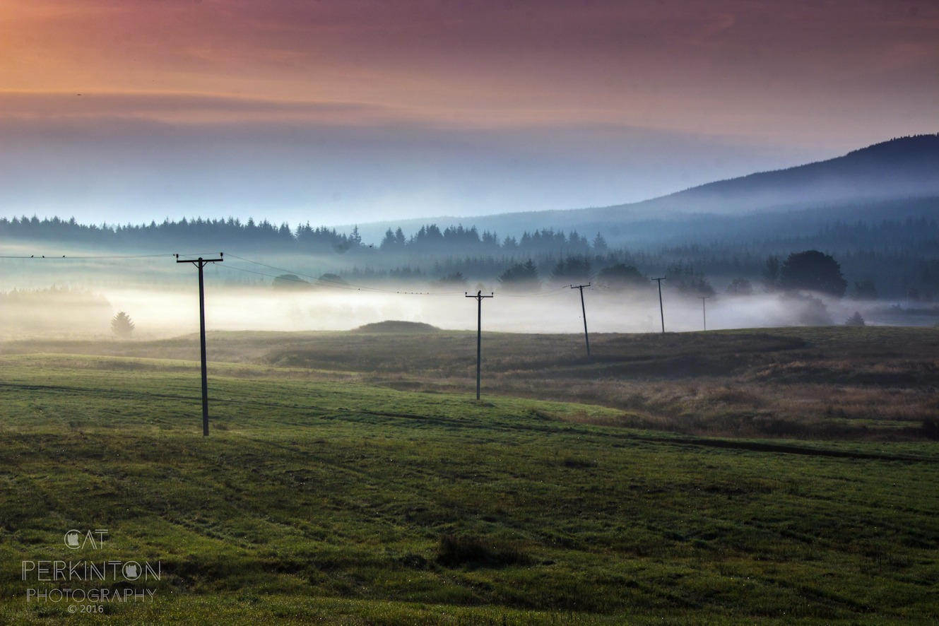 Dawn Mists Kilsyth Hills