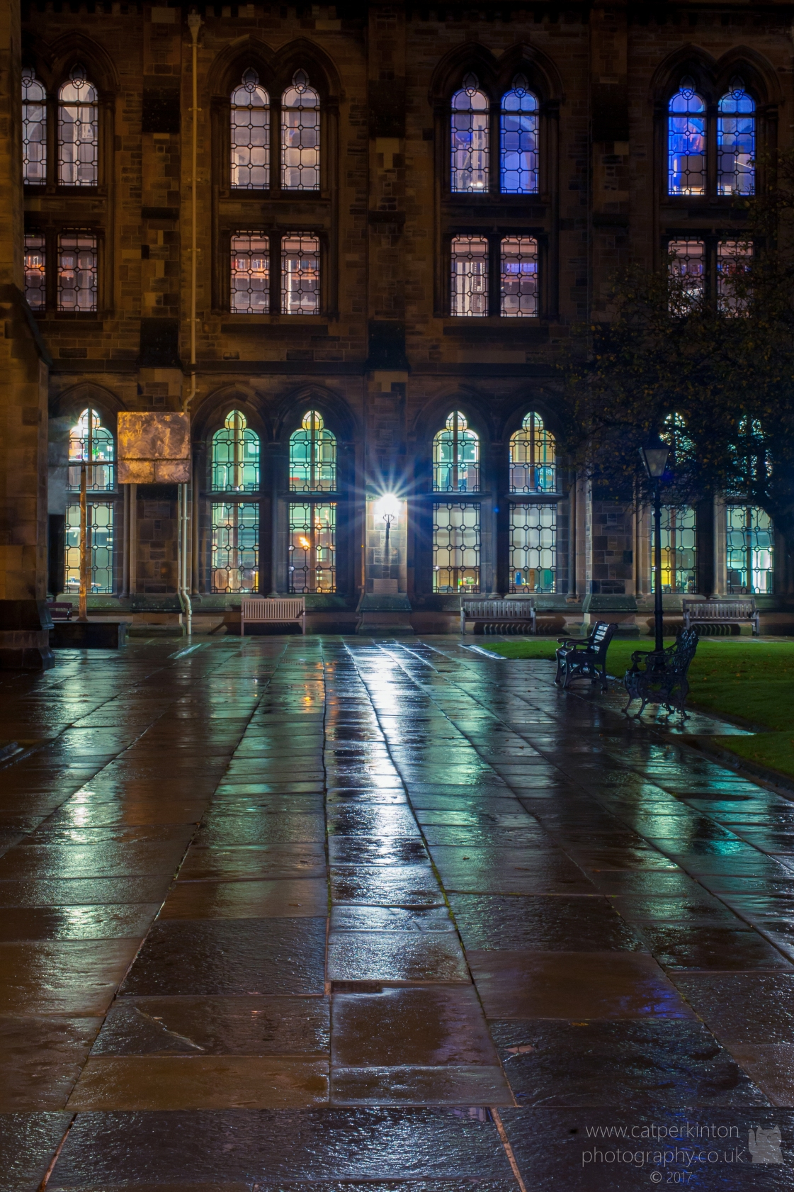 Learned Lights 2 -Glasgow Uni