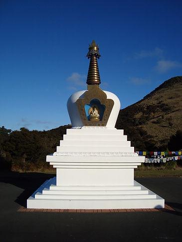 Geshe Ngawang Dhargyey's Stupa, near Portobello, Dunedin