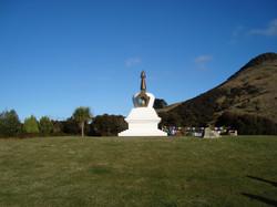 Geshe Ngawang Dhargyey's Stupa