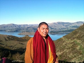 Geshe Nyima, from the Christchurch Dhargyey Centre