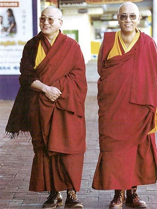 Ven. Lhagon Rinpoche and Thupten Rinpoche