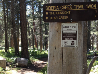 2018 Trail Work Day in Siberia Canyon - Saturday, July 28th!