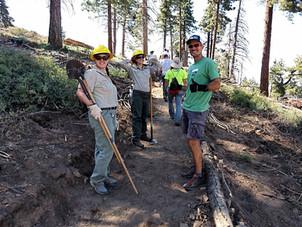 July 31st Trail Work Day!