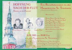 HOFFNUNG - Benefizkonzert