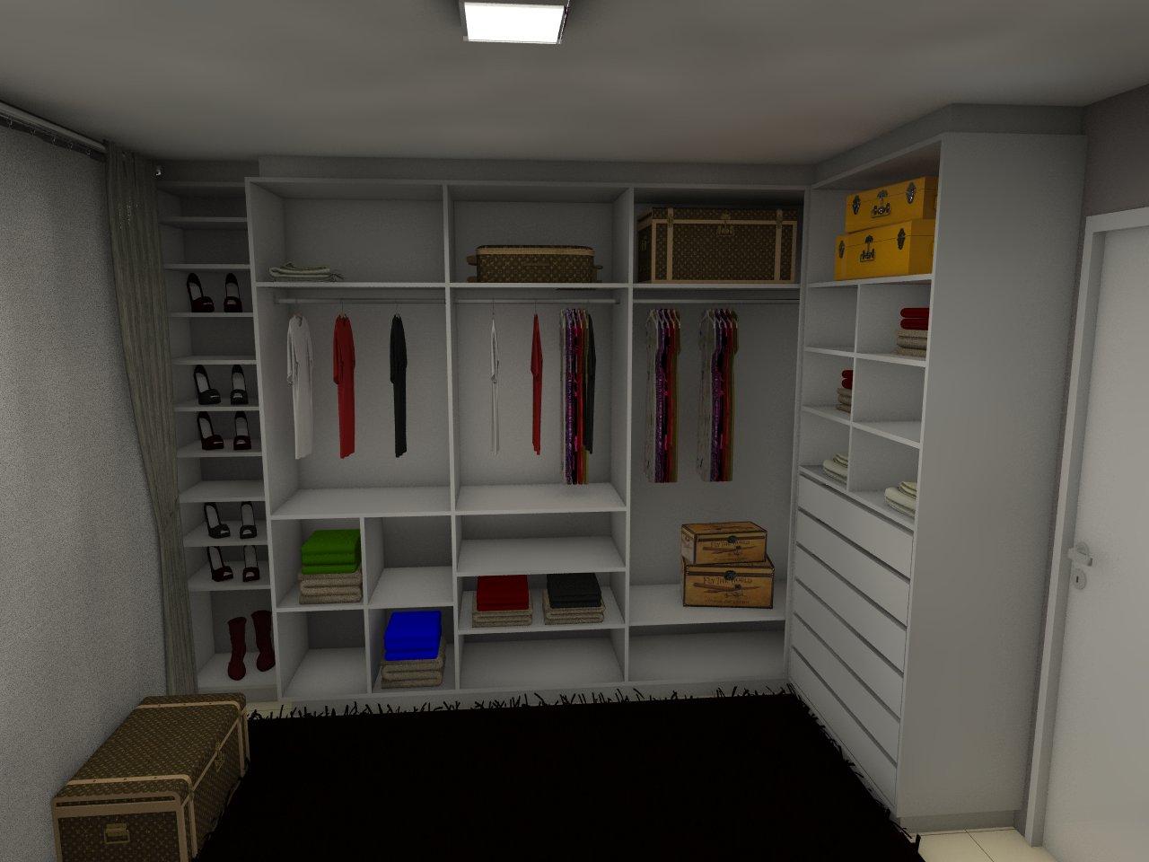 Open Closet e Sapateira