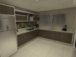 Cozinha Planejada em L