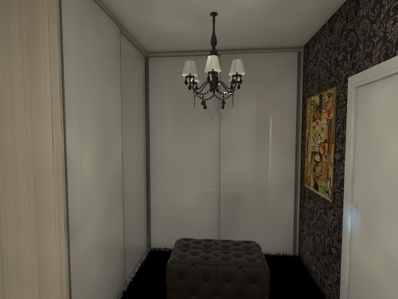 Closet / Porta Vidro Branco Leitoso