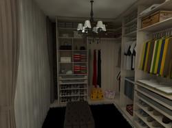 Open Closet Madeirado (Carvalho)