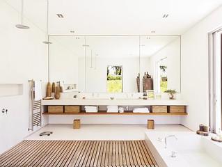 Banheiros - Decoração Clean