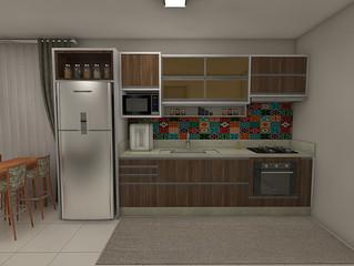 Cinco dicas para montar uma cozinha compacta