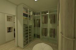 Closet - Porta em Vidro