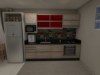 Cozinhas Compactas e Charmosas