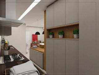 Cozinha Moderna - Sipp Arquitetura