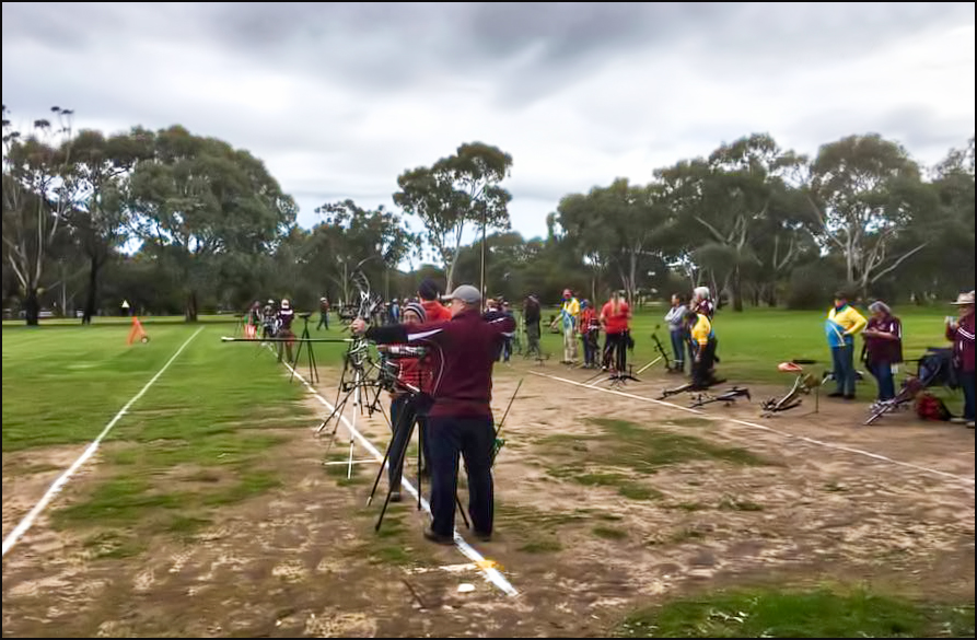 Archers on the line at SVAC
