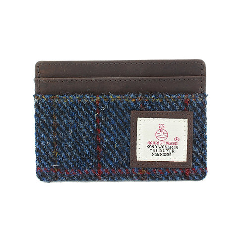 Allasdale Harris Tweed Card Holder Front View