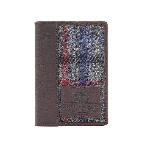 Finsbay Harris Tweed Passport Holder