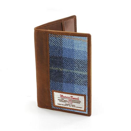 Castlebay Harris Tweed Ladies Passport Holder Front View