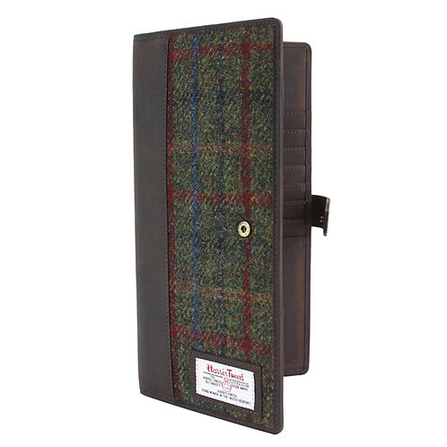 Breanais Harris Tweed Document Holder Front View