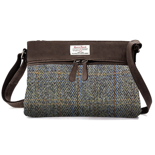 Carloway Harris Tweed Ladies Handbag Front View