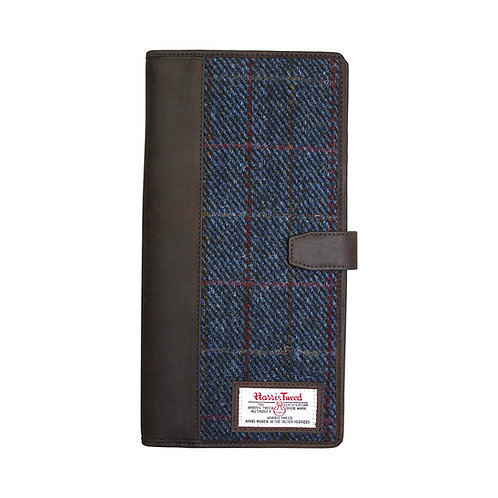Allasdale Harris Tweed Document Holder Front View