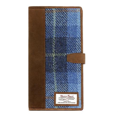 Castlebay Harris Tweed Ladies Document Holder Front View