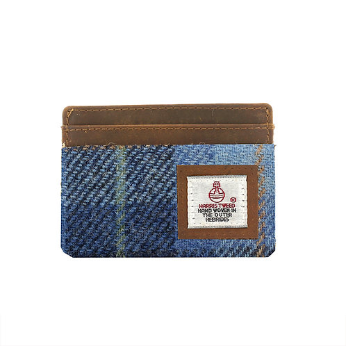Castlebay Harris Tweed Ladies Card Holder Front View